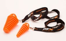 RFX Race Exhaust Bung 4 Stroke (Orange) Includes RFX Lanyard